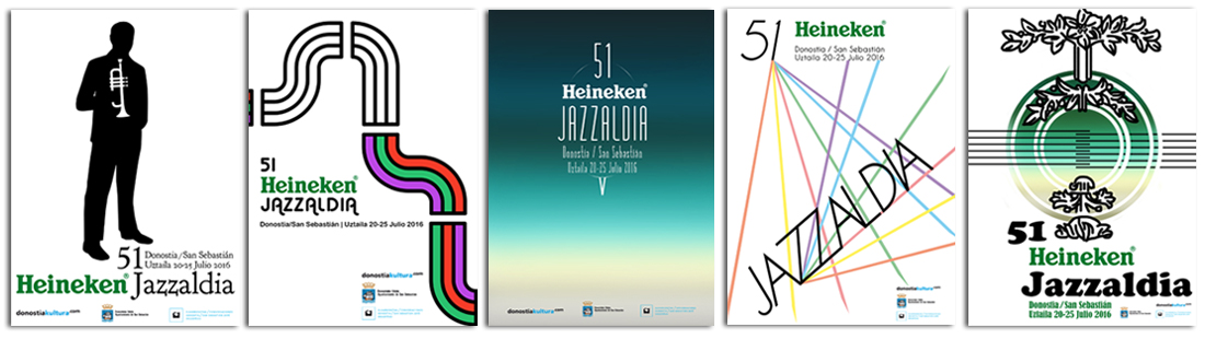 Concurso carteles 51 Heineken Jazzaldia
