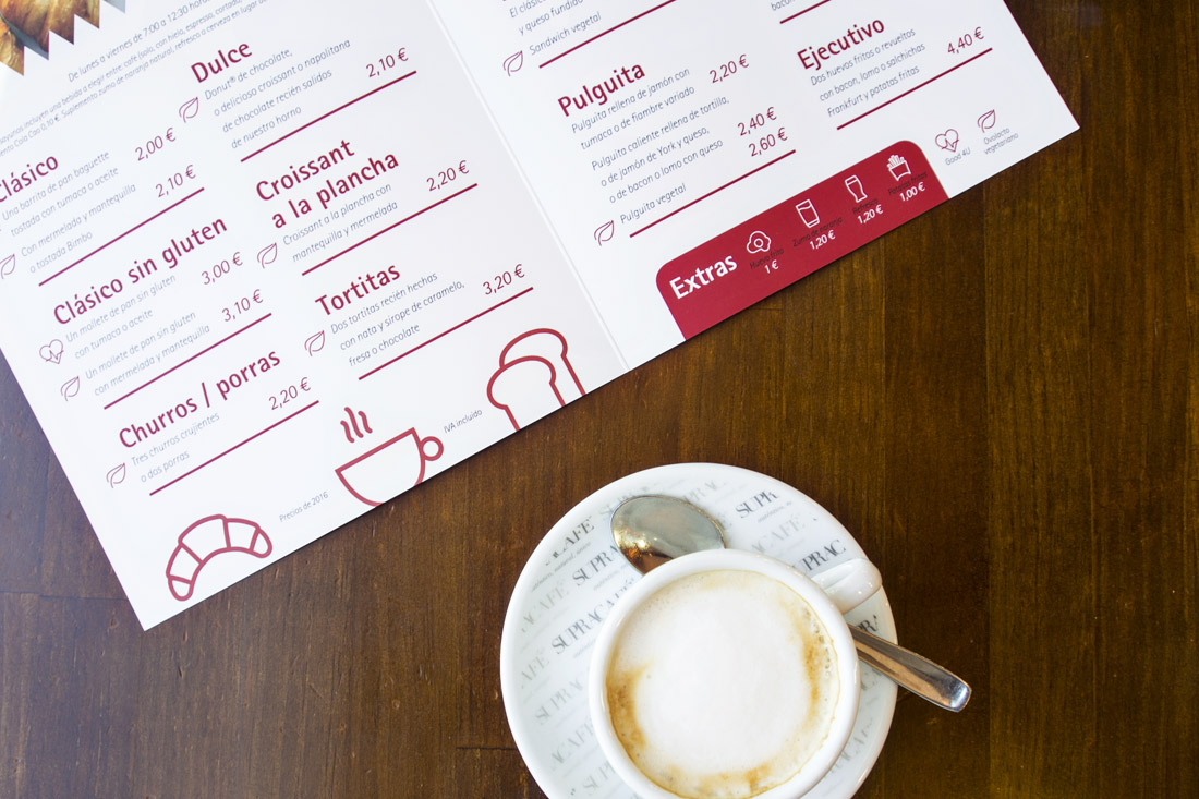 Carta desayunos Muuxu Bar