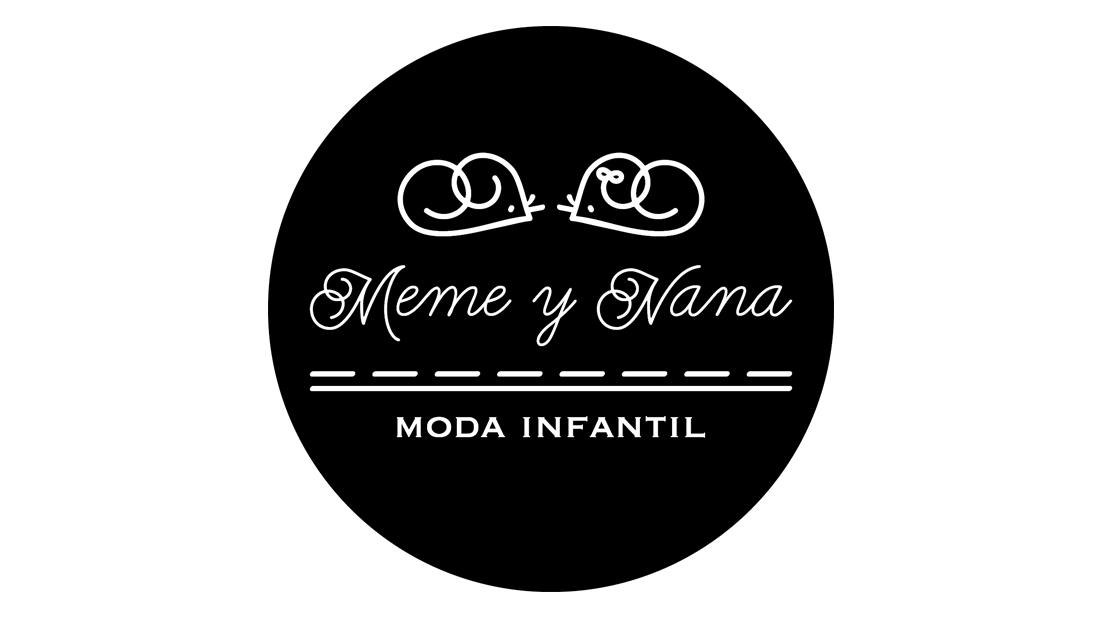 Logo Meme y Nana (versión fondo negro)