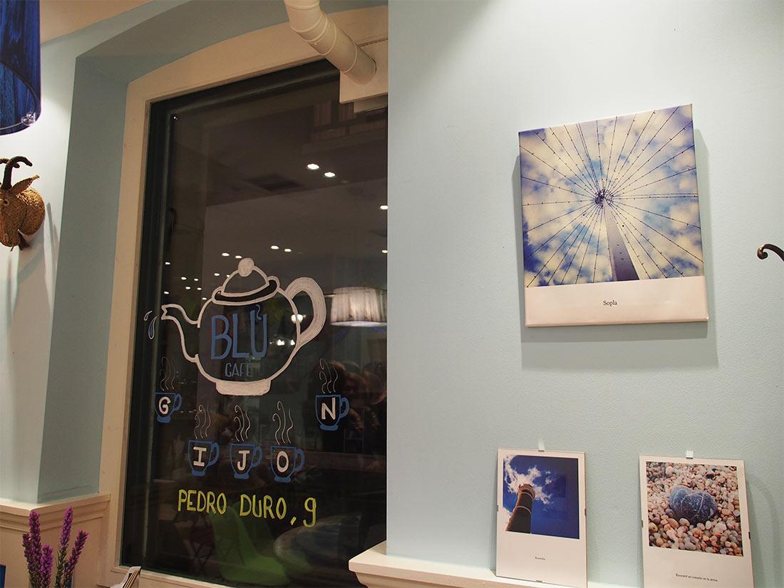Expo PRINTS en Blu Café