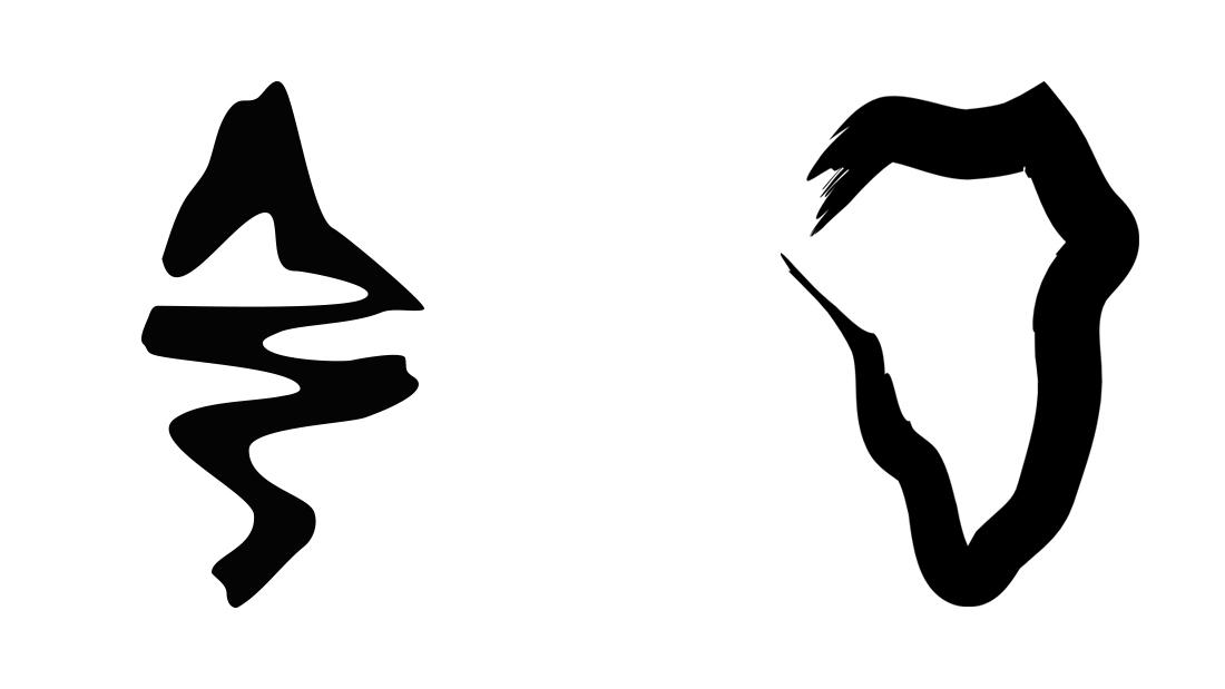 Logo Ediciones La Palma (original y rediseño)